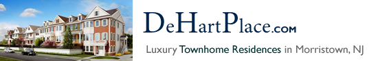 DeHart Place in Morristown NJ Morris County Morristown New Jersey MLS Search Real Estate Listings Homes For Sale Townhomes Townhouse Condos   De Hart Place   DeHartPlace